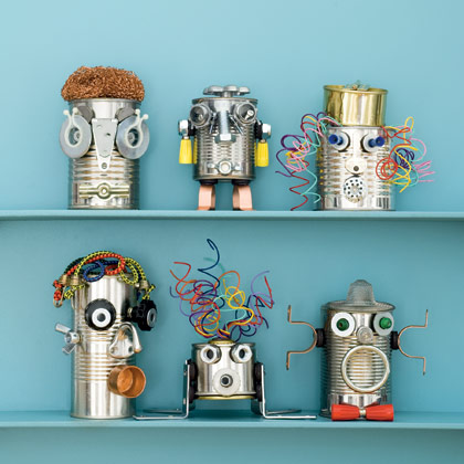 Rethink, Reuse, Repurpose: Creative Crafts from Recyclables