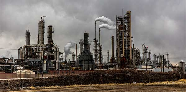 Climate Change | Factory Smoke Pollution