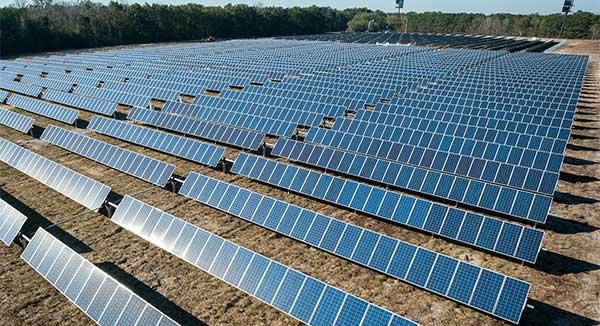 Solar Panels Array Sun Energy
