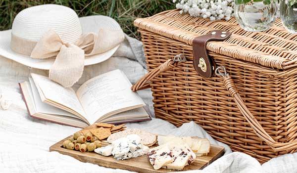 Summertime Picnic Plans - Going Green - basket image