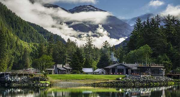 Clayoquot Wilderness Resort, British Columbia, Canada - image of lodge