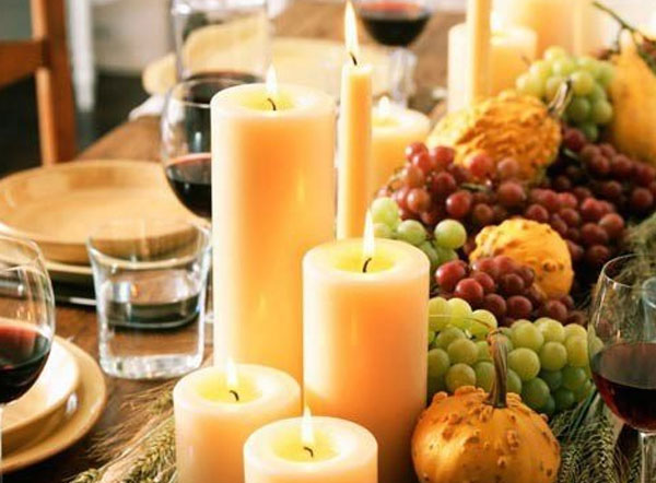 Eco-friendly Thanksgiving Ideas - table decor image