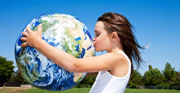 Environmental Education | eco-friendly lessons Green Energy image of young girl