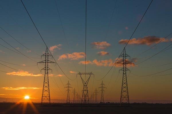 Electricity Powerlines | Just Energy Illustration