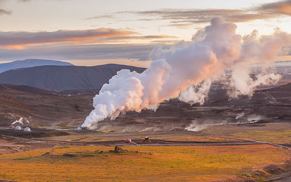 Geothermal Energy | How and when it is used - smoking energy image