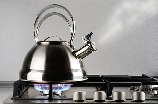 Alternative Forms Kinetic Energy | Heated Kettle example