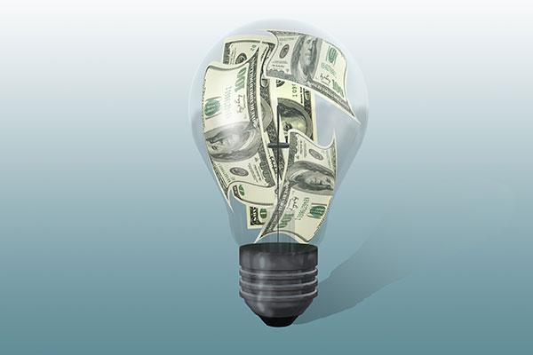 Electricity Costs | Pricing Information General - lightbulb illustration