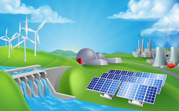 Energy in Motion | Types of Energy - power illustration