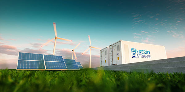 Energy Storage | Where Does Power Come from - solar illustraion