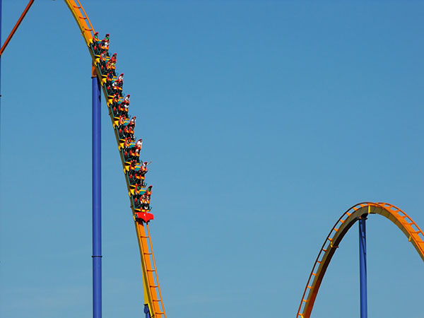Kinetic Energy | Examples Demonstration A Roller Coaster-image
