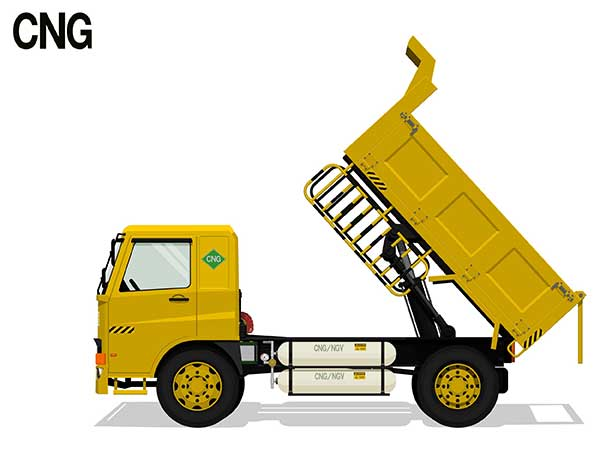 Compressed Natural Gas (CNG) | Image of Truck