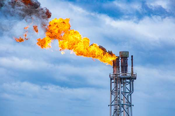 Natural Gas Conservation | Fossil fuels burning image