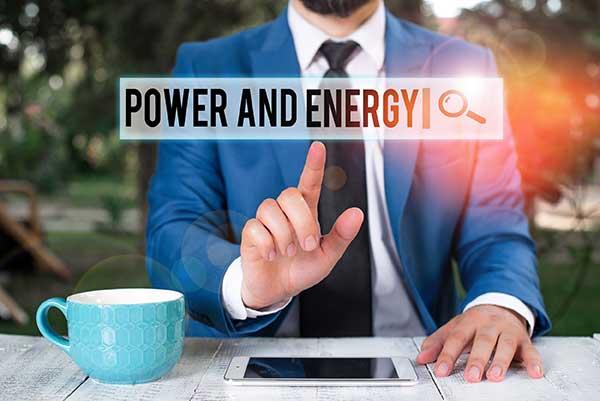 Kilowatt-Hours Power and Energy | man with ipad