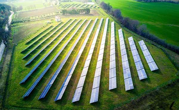Multiple Renewable Energy Sources | Solar Field Photo