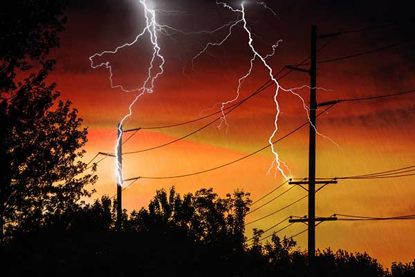 Power Outage | Lightning Reason Issues Accident