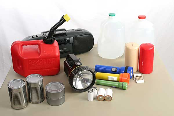 Power Outage Preparation Supplies photo