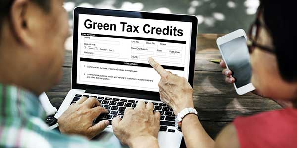 Small Businesses Sustainability Tax Credits Photo