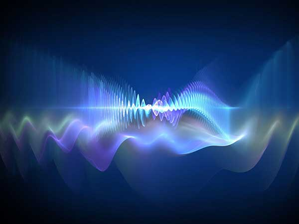 Sound Energy Waves Measured
